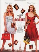 Divorce, Le - French Theatrical poster (xs thumbnail)