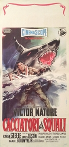 The Sharkfighters - Italian Movie Poster (xs thumbnail)