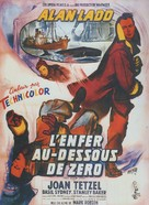 Hell Below Zero - French Movie Poster (xs thumbnail)