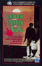 To Live and Die in L.A. - German VHS movie cover (xs thumbnail)