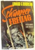 Black Tuesday - German Movie Poster (xs thumbnail)