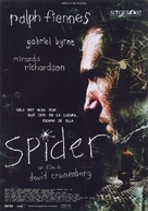 Spider - Spanish Movie Poster (xs thumbnail)