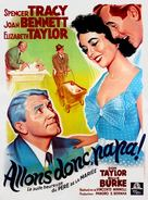 Father's Little Dividend - French Movie Poster (xs thumbnail)