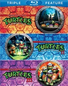 Teenage Mutant Ninja Turtles II: The Secret of the Ooze - Blu-Ray cover (xs thumbnail)