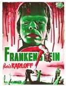 Frankenstein - Belgian Movie Poster (xs thumbnail)
