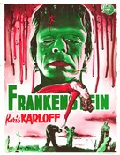 Frankenstein - Belgian Movie Poster (xs thumbnail)