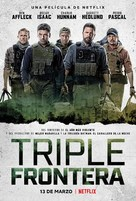 Triple Frontier - Argentinian Movie Poster (xs thumbnail)
