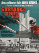 Una nuvola di polvere... un grido di morte... arriva Sartana - Danish Movie Poster (xs thumbnail)