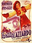 Destry Rides Again - Italian Movie Poster (xs thumbnail)