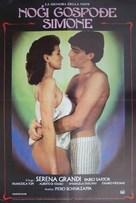 La signora della notte - Yugoslav Movie Poster (xs thumbnail)