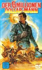 """The Six Million Dollar Man"" - German VHS movie cover (xs thumbnail)"