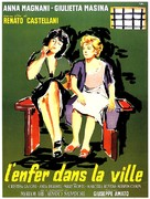 Nella città l'inferno - French Movie Poster (xs thumbnail)