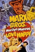 Love Happy - German Movie Poster (xs thumbnail)