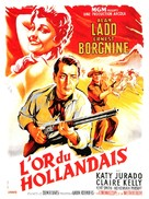 The Badlanders - French Movie Poster (xs thumbnail)