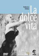 La dolce vita - Italian DVD movie cover (xs thumbnail)