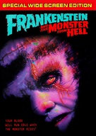 Frankenstein and the Monster from Hell - DVD movie cover (xs thumbnail)