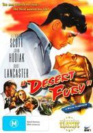 Desert Fury - Australian DVD movie cover (xs thumbnail)