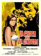 La ragazza di Via Condotti - Spanish Movie Poster (xs thumbnail)