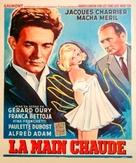 La main chaude - Belgian Movie Poster (xs thumbnail)