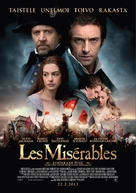 Les Misérables - Finnish Movie Poster (xs thumbnail)