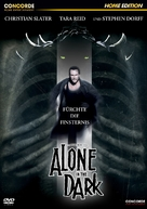 Alone in the Dark - German DVD cover (xs thumbnail)