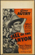 Call of the Canyon - Movie Poster (xs thumbnail)