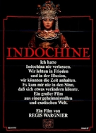 Indochine - German Movie Poster (xs thumbnail)
