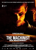 The Machinist - German Movie Poster (xs thumbnail)