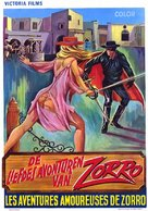Les aventures galantes de Zorro - Belgian Movie Poster (xs thumbnail)
