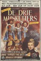 The Three Musketeers - Dutch Movie Poster (xs thumbnail)
