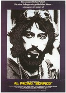 Serpico - German Movie Poster (xs thumbnail)