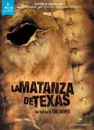 The Texas Chain Saw Massacre - Spanish Blu-Ray movie cover (xs thumbnail)