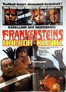 Horror Hospital - German Movie Poster (xs thumbnail)