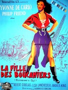 Buccaneer's Girl - French Movie Poster (xs thumbnail)