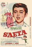 Saeta del ruiseñor - Spanish Movie Poster (xs thumbnail)