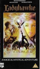 Ladyhawke - British VHS movie cover (xs thumbnail)