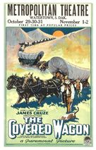 The Covered Wagon - Movie Poster (xs thumbnail)