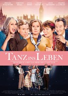 Finding Your Feet - German Movie Poster (xs thumbnail)