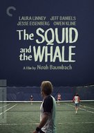 The Squid and the Whale - DVD movie cover (xs thumbnail)