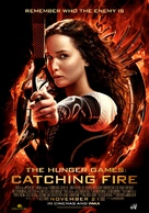 The Hunger Games: Catching Fire - Lebanese Movie Poster (xs thumbnail)