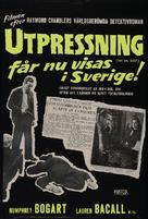 The Big Sleep - Swedish Movie Poster (xs thumbnail)