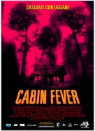 Cabin Fever - Italian Movie Poster (xs thumbnail)