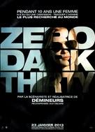 Zero Dark Thirty - French Movie Poster (xs thumbnail)