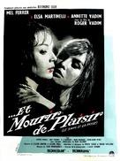 Et mourir de plaisir - French Movie Poster (xs thumbnail)