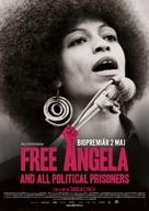 Free Angela & All Political Prisoners - Swedish Movie Poster (xs thumbnail)