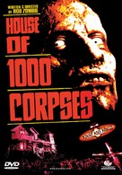 House of 1000 Corpses - Norwegian DVD movie cover (xs thumbnail)