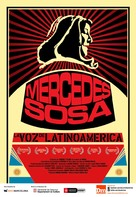 Mercedes Sosa: La voz de Latinoamérica - Spanish Movie Poster (xs thumbnail)