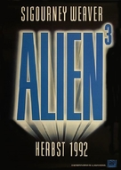 Alien 3 - German Movie Poster (xs thumbnail)