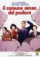 Il comune senso del pudore - Italian DVD movie cover (xs thumbnail)