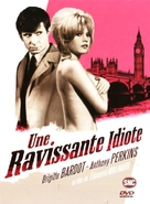 Une ravissante idiote - French Movie Cover (xs thumbnail)